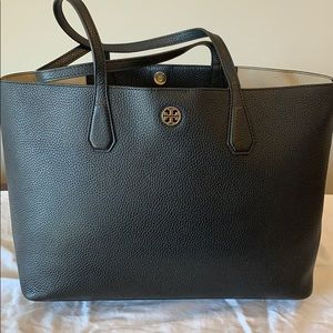 Black Tory Burch Perry Tote